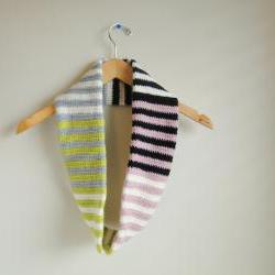 Striped Cowl **Marked Down! with FREE SHIPPING US & CANADA**